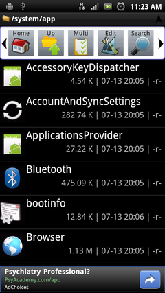 android 7.0 application manager