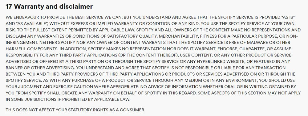terms and conditions template for mobile applications