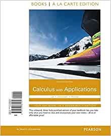 calculus with applications 11th edition ebook