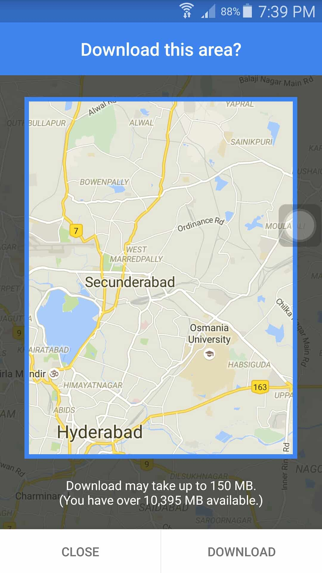 how to use offline map in android application