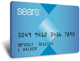 sears store credit card application