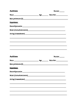 game of thrones casting call application form