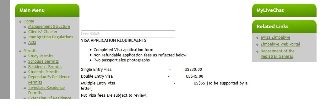department of state visa application