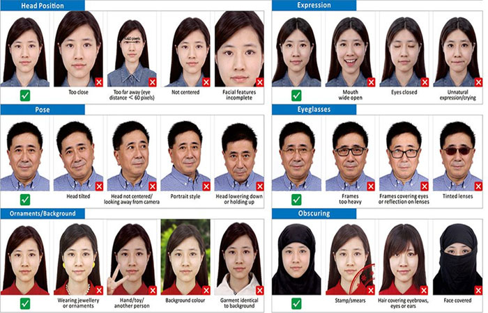 photo requirements for chinese visa application