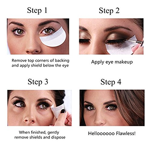 under eye patches for makeup application