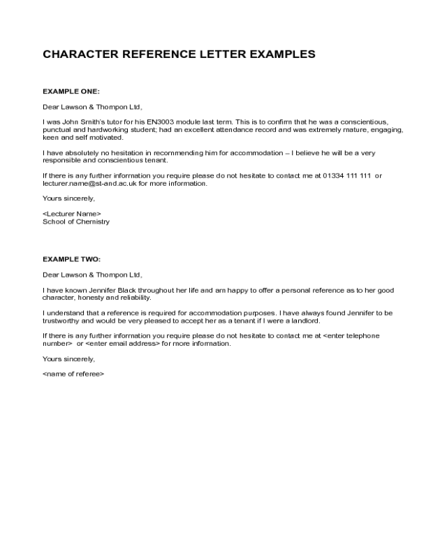 application form sample for students