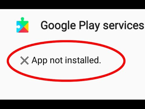 application is not installed on your phone