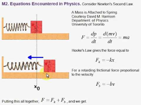 application of differential equation in daily life