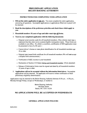 free online section 8 housing applications