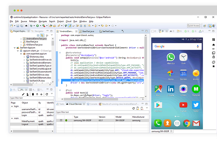 how to test mobile application
