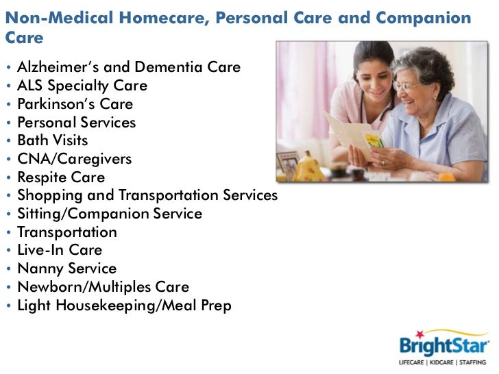 in home care services application