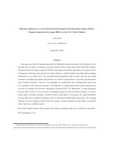 monte carlo sampling methods using markov chains and their applications