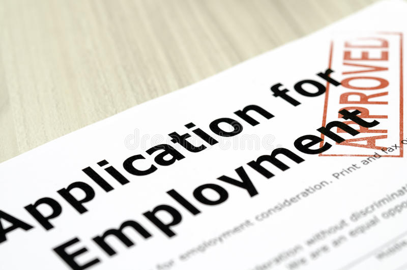 what is occupation on a job application